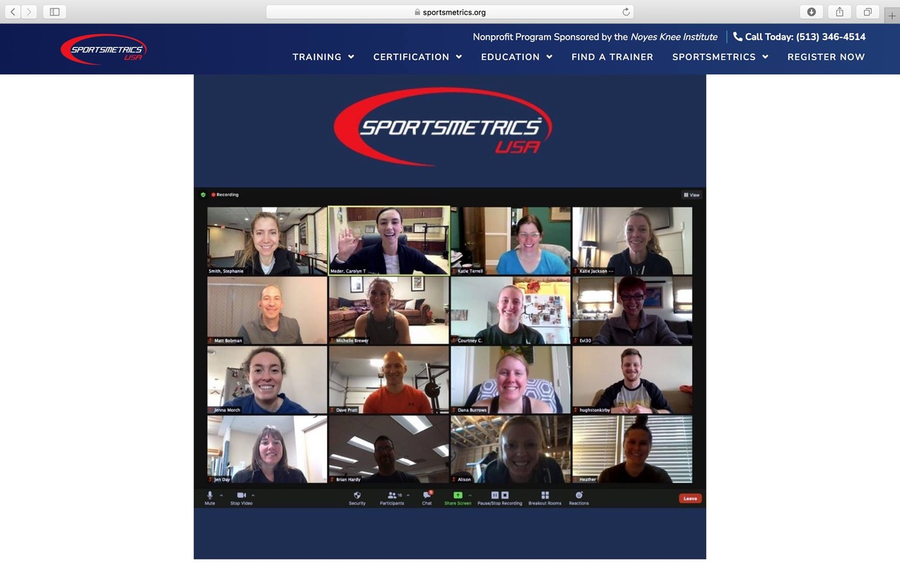 Evangelia Ditsiopoulou Is Now A Certified Trainer At Sportsmetrics
